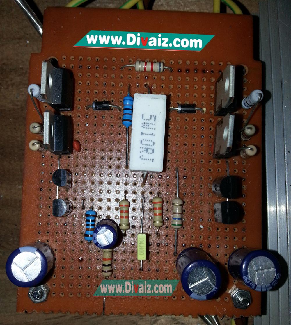 Cara Modifikasi Power Amplifier OCL 600 Watt