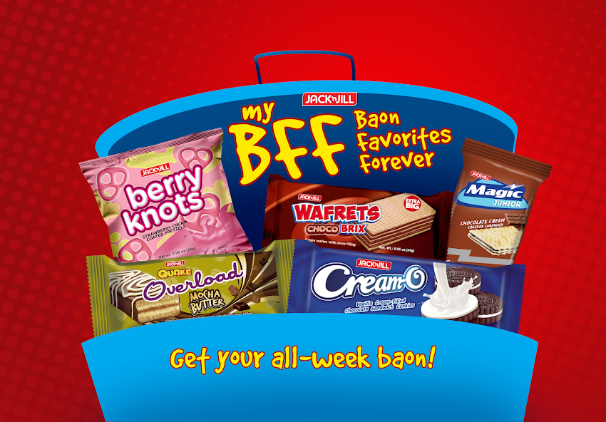 You and Your Kids BFF, Jack 'n Jill Baon Favorites Forever