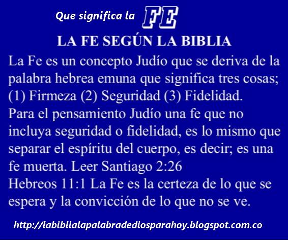 Que significa fe-Santiago-2-26
