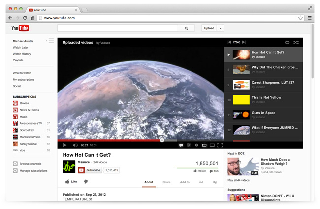Youtube Video Player 2012