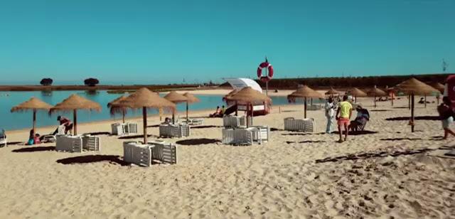 Areal Praia Fluvial Cinco Reis