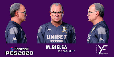 PES 2020 Faces Marcelo Bielsa by Yeshua Facemaker