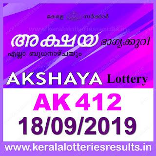 KeralaLotteriesresults.in, akshaya today result: 18-09-2019 Akshaya lottery ak-412, kerala lottery result 18-09-2019, akshaya lottery results, kerala lottery result today akshaya, akshaya lottery result, kerala lottery result akshaya today, kerala lottery akshaya today result, akshaya kerala lottery result, akshaya lottery ak.412 results 18-09-2019, akshaya lottery ak 412, live akshaya lottery ak-412, akshaya lottery, kerala lottery today result akshaya, akshaya lottery (ak-412) 18/09/2019, today akshaya lottery result, akshaya lottery today result, akshaya lottery results today, today kerala lottery result akshaya, kerala lottery results today akshaya 18 09 19, akshaya lottery today, today lottery result akshaya 18-09-19, akshaya lottery result today 18.09.2019, kerala lottery result live, kerala lottery bumper result, kerala lottery result yesterday, kerala lottery result today, kerala online lottery results, kerala lottery draw, kerala lottery results, kerala state lottery today, kerala lottare, kerala lottery result, lottery today, kerala lottery today draw result, kerala lottery online purchase, kerala lottery, kl result,  yesterday lottery results, lotteries results, keralalotteries, kerala lottery, keralalotteryresult, kerala lottery result, kerala lottery result live, kerala lottery today, kerala lottery result today, kerala lottery results today, today kerala lottery result, kerala lottery ticket pictures, kerala samsthana bhagyakuri