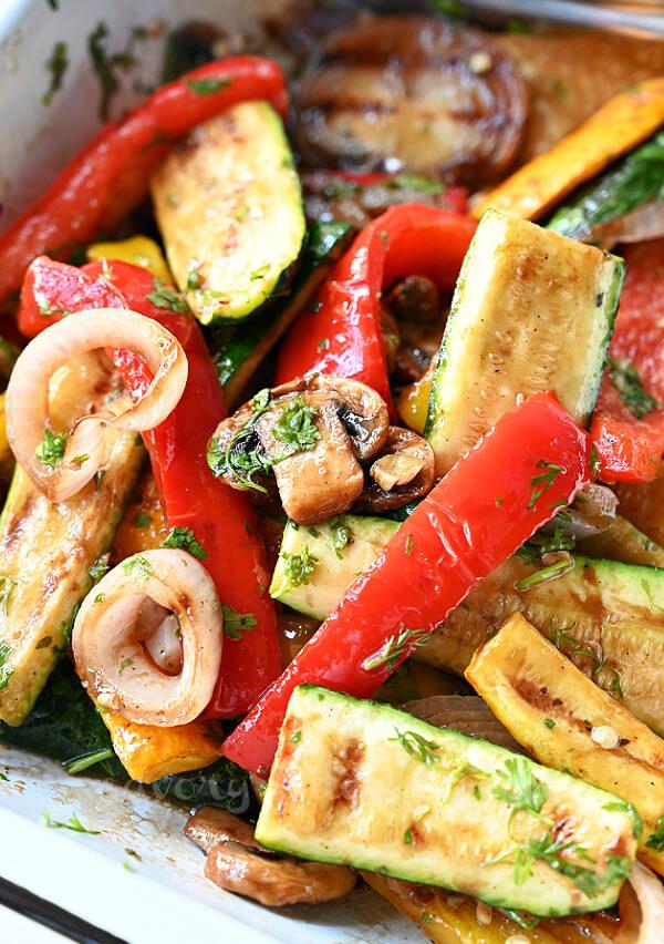 best ever grilled vegetables