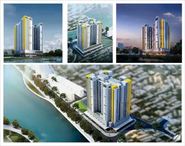 Thiết kế Nhà ở xã hội Rice City Long Biên