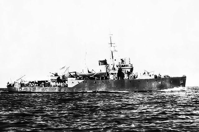 HMS Whitehaven Bangor Class Minesweeper