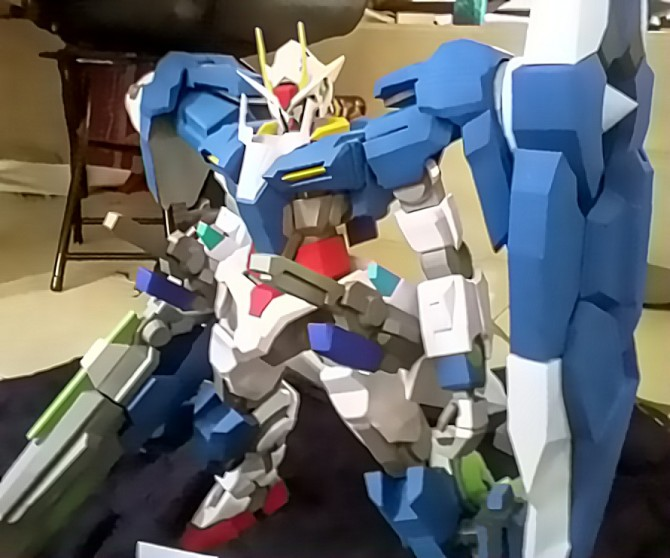 30e91ebca3a6b Papercraft - Modelos en papel - CBA  Mobile Suite Gundam ...