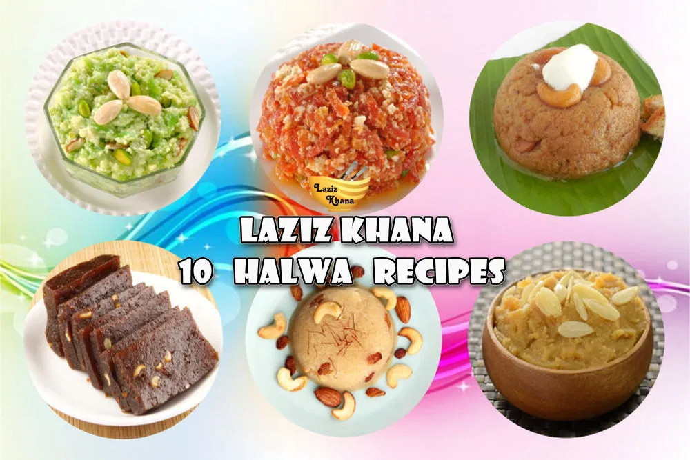 10 Halwa Recipes in Hindi