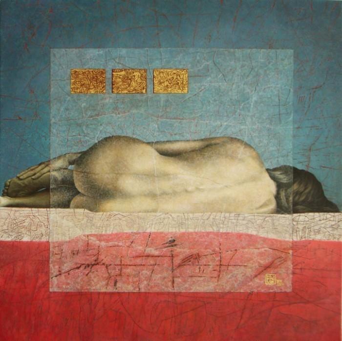 Французский художник. Alain Le Junter