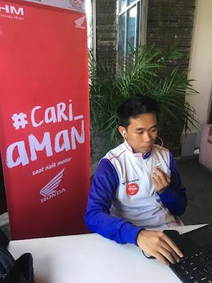 Astra Motor Kalimantan Barat  Gelar Edukasi  #Cari_Aman Di SMA N 1 Pontianak
