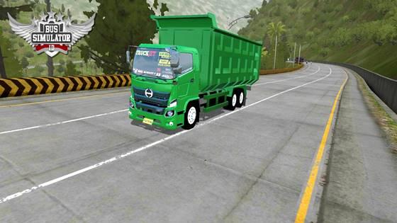 Hino 500 NG Dump Truck Kosong