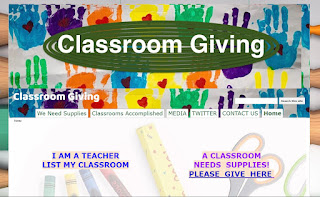 """Classroom Giving is best described as a gift registry for educators"""