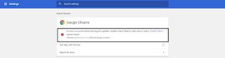 Fix Update Check Failed To Start Google Chrome