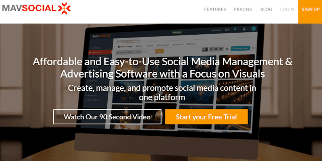 Mav social media management tool