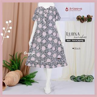 Home Dress Terbaru orizeeya HZ Lubna by Folia grup
