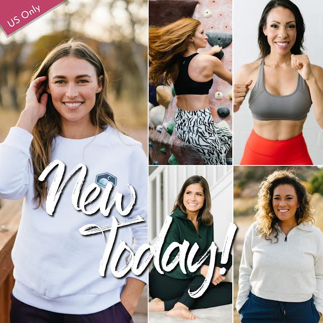 Zyia New Release Monday, zyia sweatshirt, zyia sports bra, zyia new releases, zyia new products
