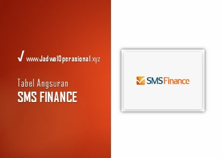 Tabel Angsuran SMS Finance