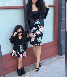 Baju Couple Cantik Ibu dan Anak 20007