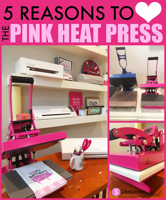 heat press, heat press machine, heat press vinyl, swing design, pink heat press