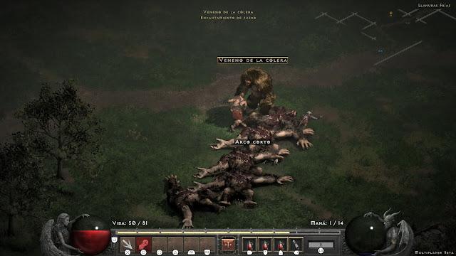 Combate Monstruos Diablo II Resurrected