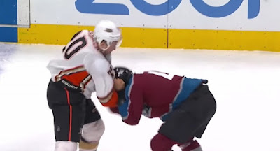 Hockey Fight Deslauriers Bellemare