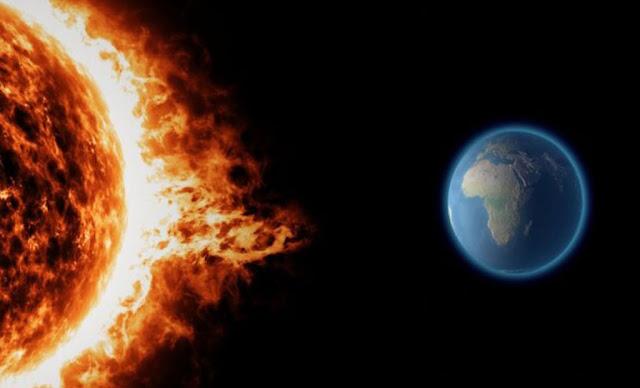 عاصفة شمسية 2021 Solar storm