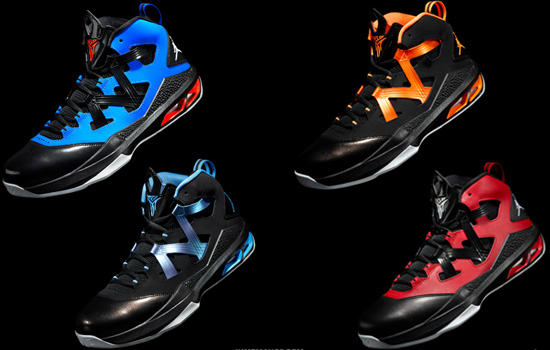 brand new 7d692 cbd70 After debuting for Christmas 2012, the Jordan Melo M9 is officially set for  its general release on Wednesday, January 9th. Four colorways will be  available.