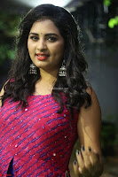 Srushti in beautiful Pink Sleeveless Dress Cute Actress Dimples ~  Exclusive 008.JPG