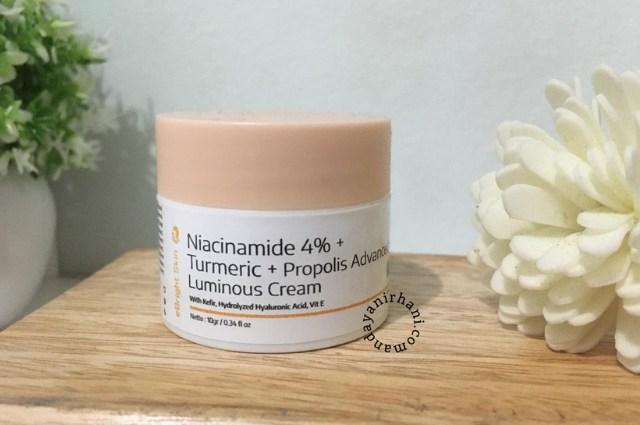 review ebright skin luminous cream