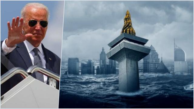 Joe Biden Singgung Jakarta 'Tenggelam', Sinyal AS Bantu Ibu Kota RI Pindah?
