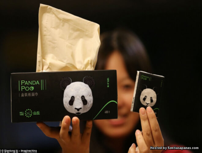 Tisu Panda Poo Paling Mahal Di Dunia Dibuat Daripada Tahi!