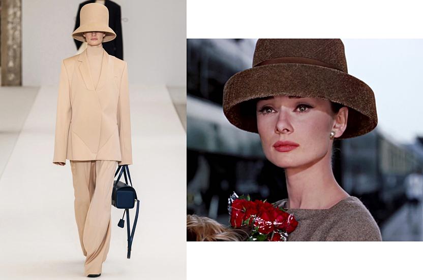 Nina ricci o lo que Audrey Hepburn llevaría en 2019
