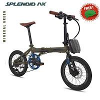 sepeda lipat pacific splendid ax folding bike