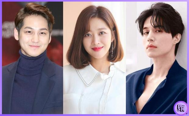 Kim Bum, Jo Ba Ah, and Lee Dong Wook