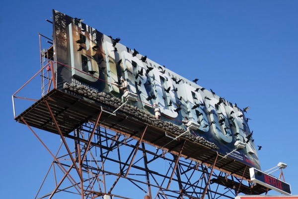 Bird Box film special 3D billboard