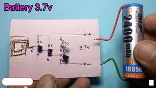 Non-Contact Voltage Tester Circuit Diagram