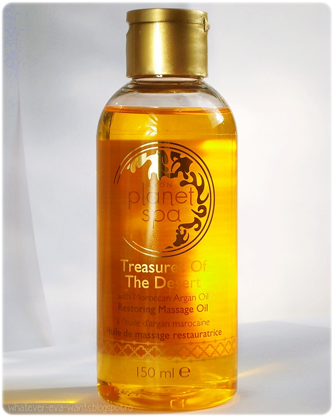 Planet Spa Treasures of the desert Moroccan Argan Oil Massage Oil