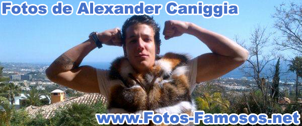 Fotos de Alexander Caniggia