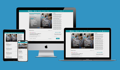 Lonemagz - Blogger Template Free Download.