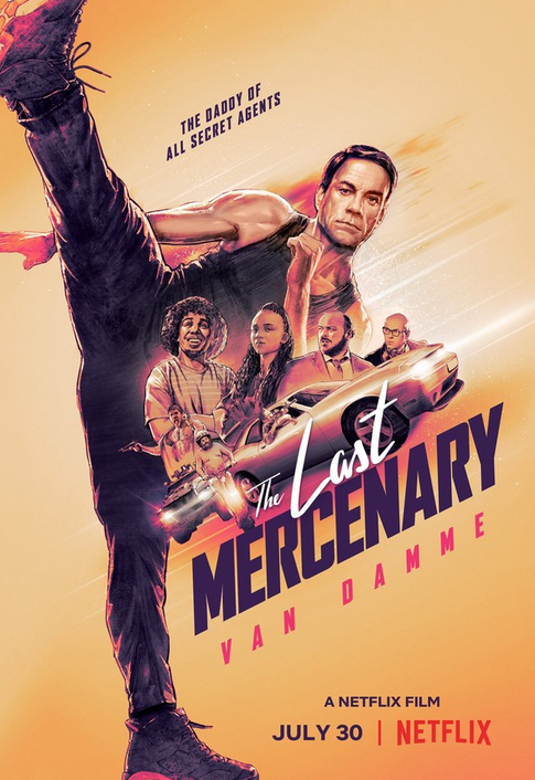 The Last Mercenary, Comedy, Action, Adventure, Netflix, Movie Review by Rawlins, Rawlins GLAM, Rawlins Lifestyle