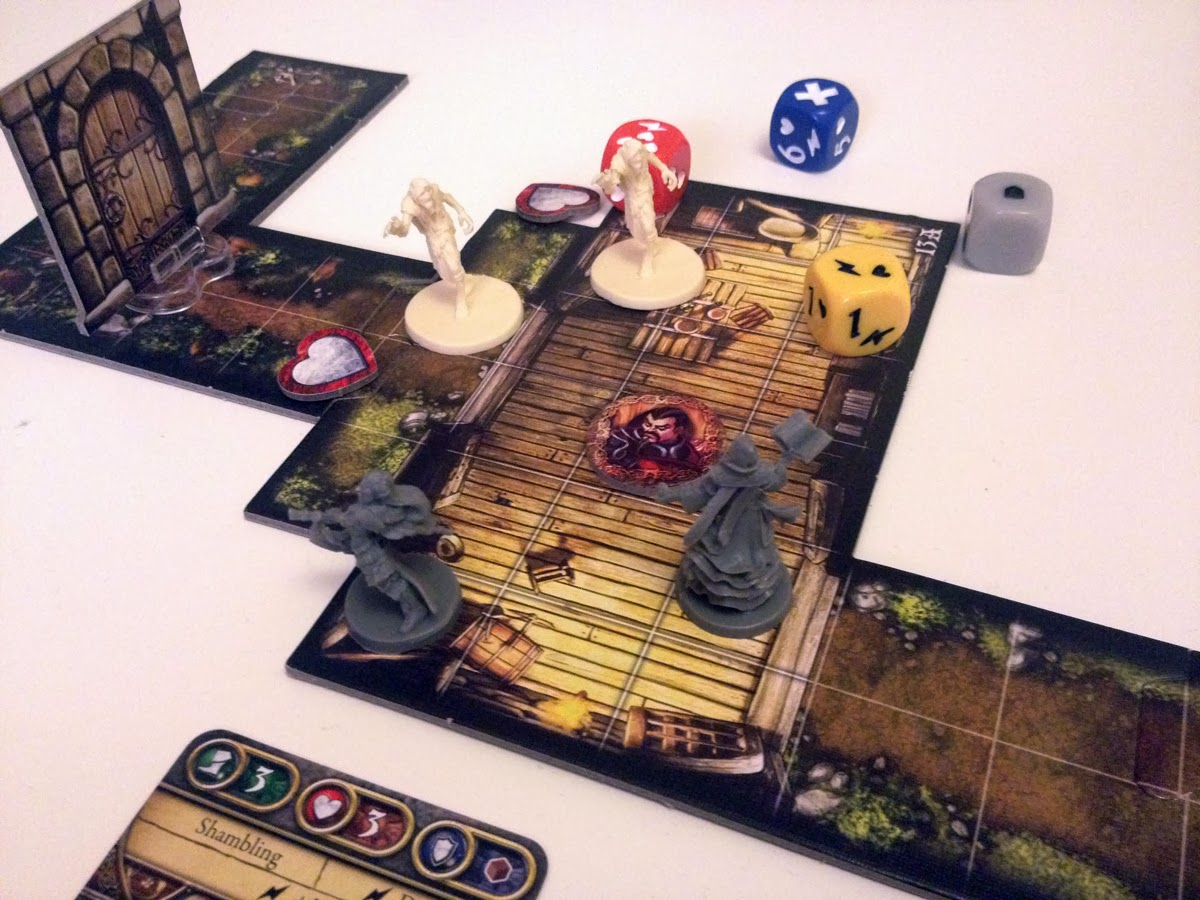 Descent Journeys In The Dark Second Edition Board Review