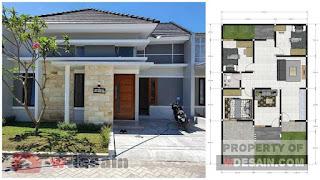 Model rumah minimalis ukuran 9x13