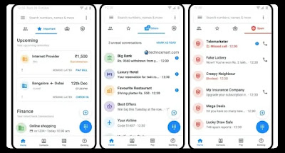 truecaller home tab screenshots Truecaller