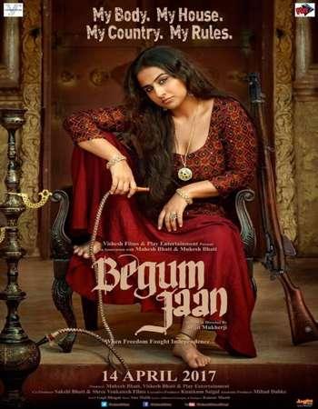 Begum Jaan 2017 Hindi 650MB HDRip 720p ESubs HEVC