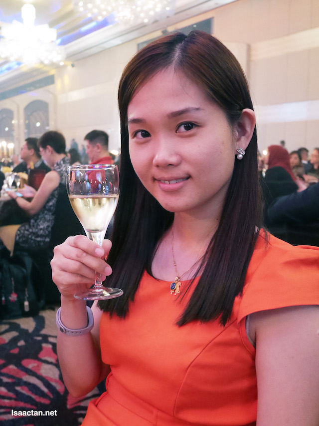 Janice at the One World Hotel Petaling Jaya's 10th Anniversary Celebration