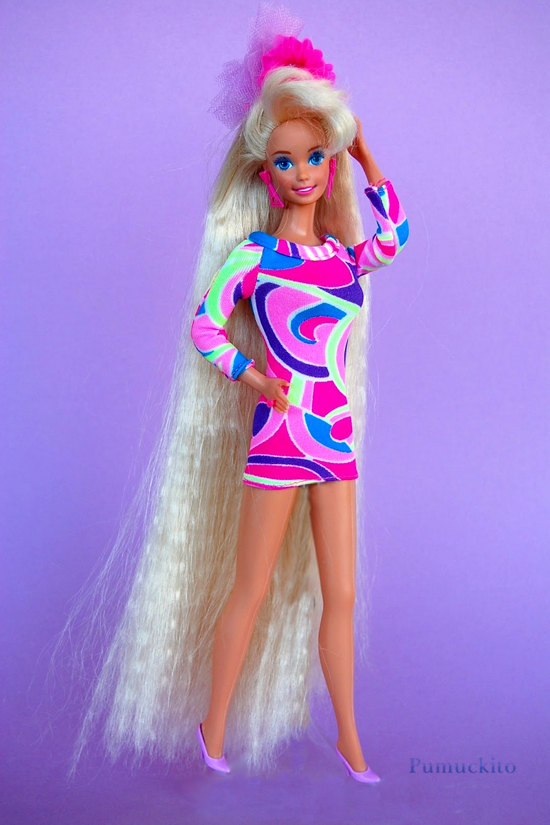Totally Cool Nails Book Review: Totally Hair Barbie (1991): Totally Cool Lunch Date