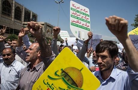Usai Shalat Jumat, Rakyat Iran akan Unjuk Rasa Anti-AS dan Israel