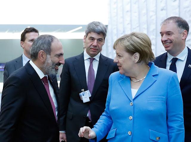 Angela Merkel visitará Armenia