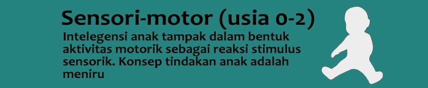 Tahap Sensori Motor (0-2 tahun)