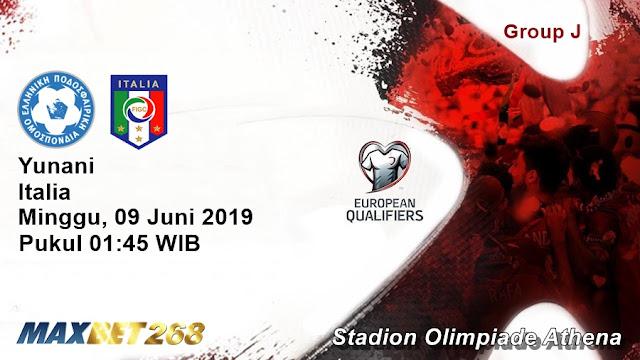 Prediksi Yunani Vs Italia, Minggu 09 Juni 2019 Pukul 01.45 WIB